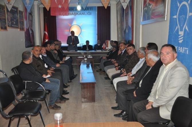 AK Partili Bulut, STK temsilcileriyle bir araya geldi