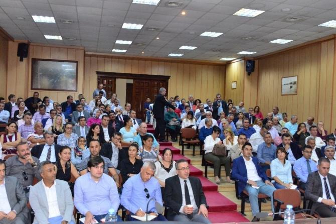 Akdeniz'de eğitim değerlendirme toplantısı