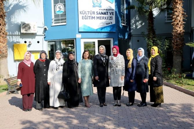 """Atakum'da """"Her Anne Bir Okul"""" projesi"""