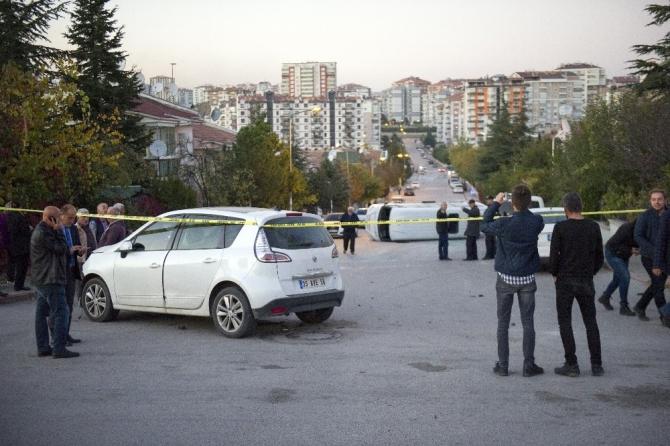 Başkent'te öğrenci servisi ile otomobil çarpıştı: 7 yaralı