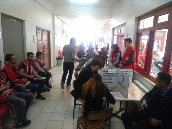 Zonguldak Bülent Ecevit Üniversitesinden Kızılay'a rekor destek