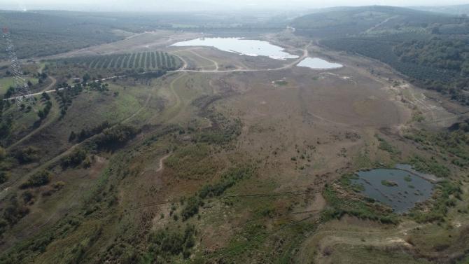 40 yıllık gölet kurudu