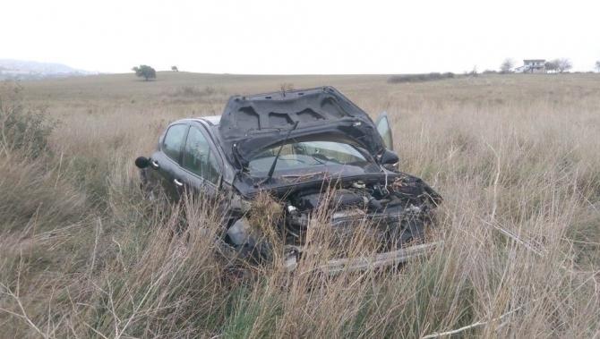 Keşan'da trafik kazası: 2 yaralı