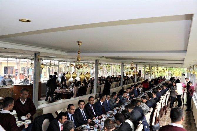 Gaziantep'ten Tayini çıkan hakim ve savcılara veda yemeği