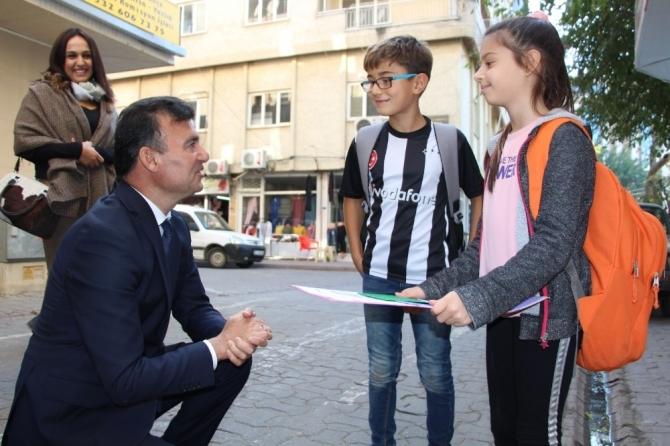 Başkan Akın, çalışmalarını İncirliova'da sürdürdü