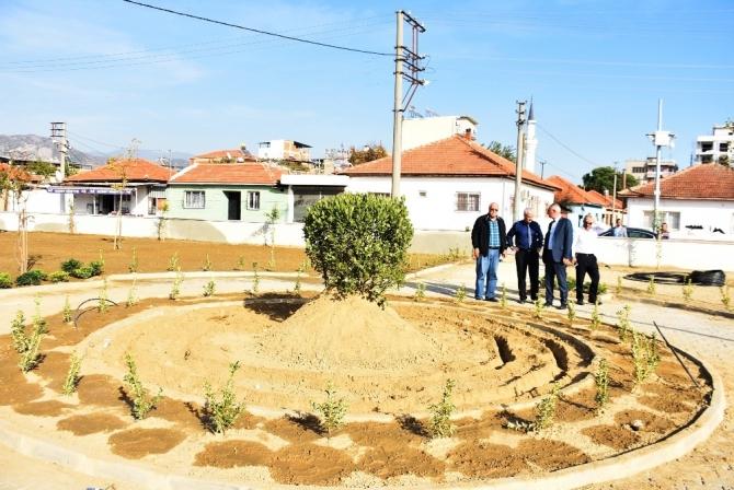 İncirliova'da 57 ayda 23 park 12 sosyal tesis