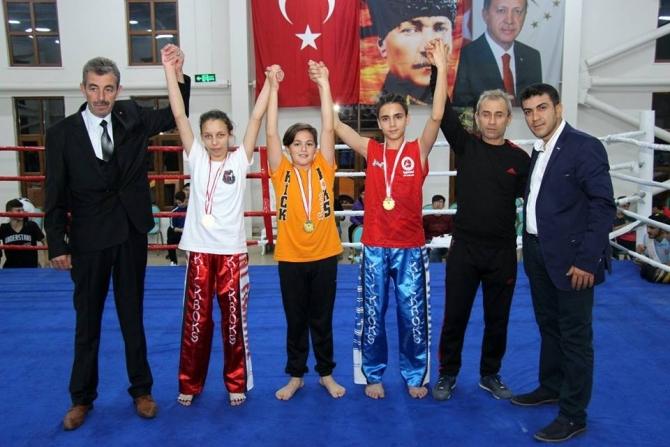 Osmaneli'nde Kick Boks Turnuvası