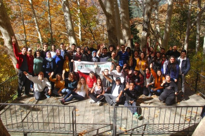 Konya Beyşehir Belediyesinden doğa yürüyüşü etkinliği