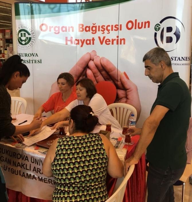 Organ Bağışı Haftasında vatandaşları bilgilendirdiler
