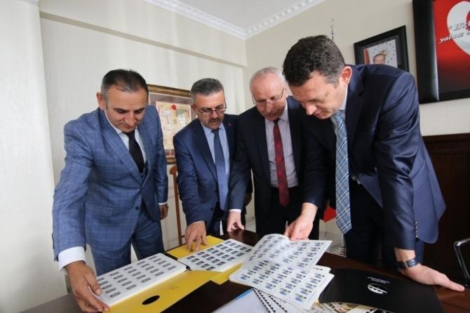 Safranbolu'nun tanıtımı için posta pulu bastırıldı
