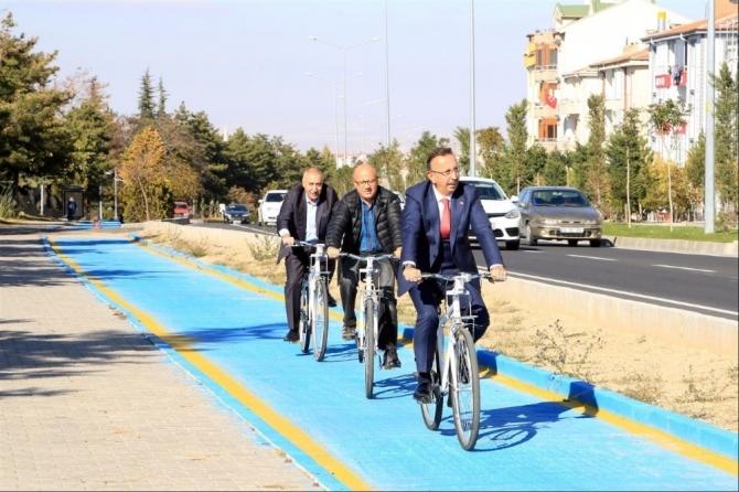 Nevşehir'de akıllı bisiklet sistemi uygulaması başladı