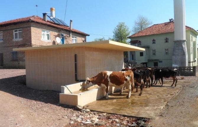 Büyükşehir'den köylere sulama desteği