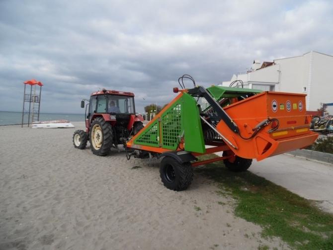 Tekirdağ'da kıyı ve plajlar temizleniyor