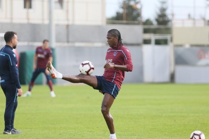 Trabzonspor, Yeni Malatyaspor hazırlıklarını sürdürdü