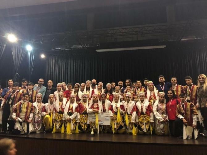 Seyhan Belediyesi halk oyunlarında Türkiye ikincisi