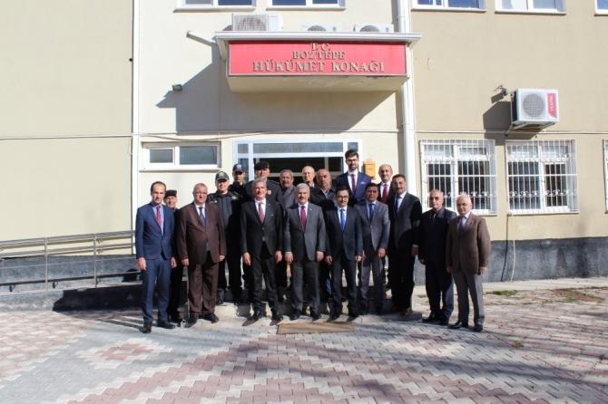 Vali Akın, Boztepe ilçesinde yatırımlar hakkında bilgi aldı