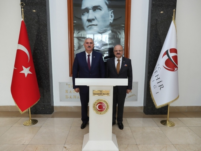 Yargıtay Cumhuriyet Başsavcısı Akarca, Vali Çakacak'ı Ziyaret Etti