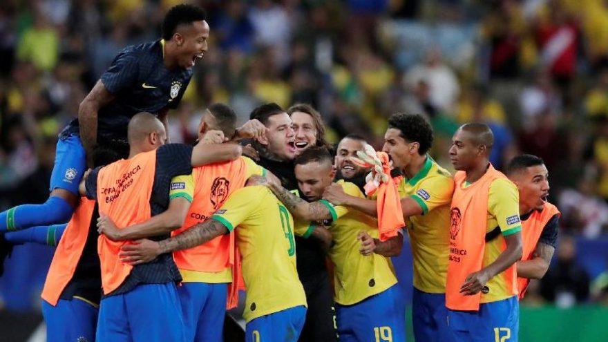 Sambacılar şampiyon! Brezilya Peru özet   Brezilya Peru golleri