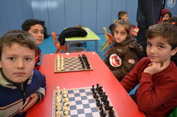 Öğrencilerin 'akıl ve zeka oyunları' heyecanı