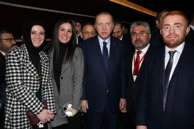 Samsun heyeti Erdoğan ile buluştu