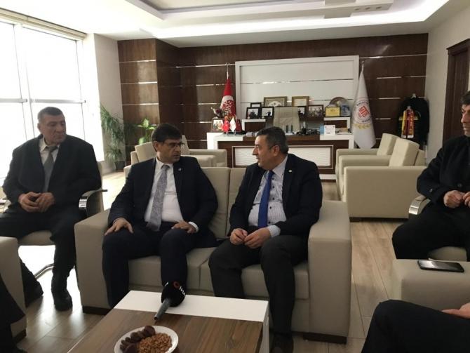 CHP Ekonomi heyeti Malatya'da