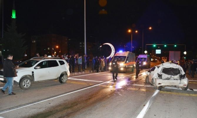 Giresun'da zincirleme kaza: 2 yaralı