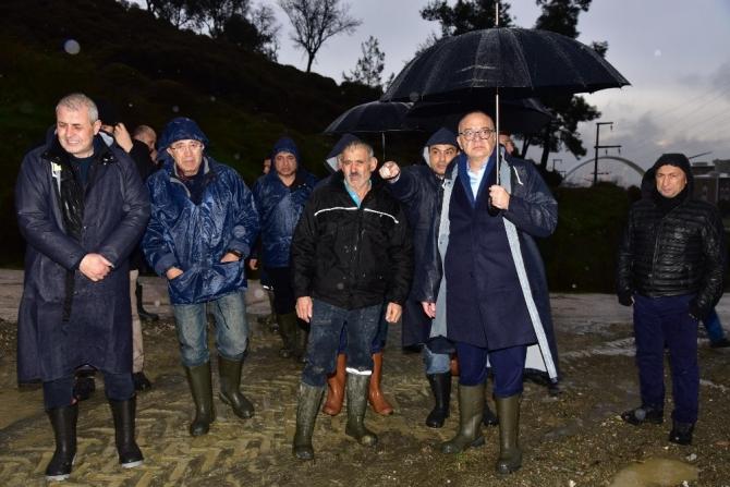 """Başkan Ergün: """"Can kaybının yaşanmaması en büyük sevincimiz"""""""