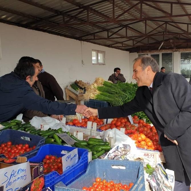 Başkan Kızıldaş'a Arguvanlı'lardan ilgi