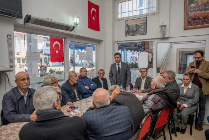 CHP'nin Kuşadası adayı Ömer Günel'dan Alevi Kültür Derneklerine ziyaret