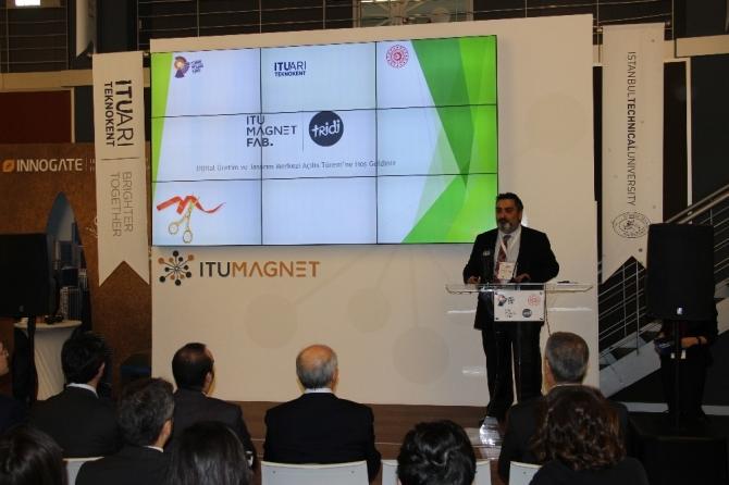 Dijital Üretim Merkezi İTÜ Magnet Fab   Tridi açıldı