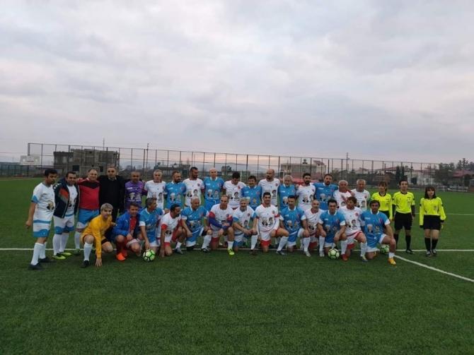 12 Şubat anısına Türkoğlu'nda dostluk maçı