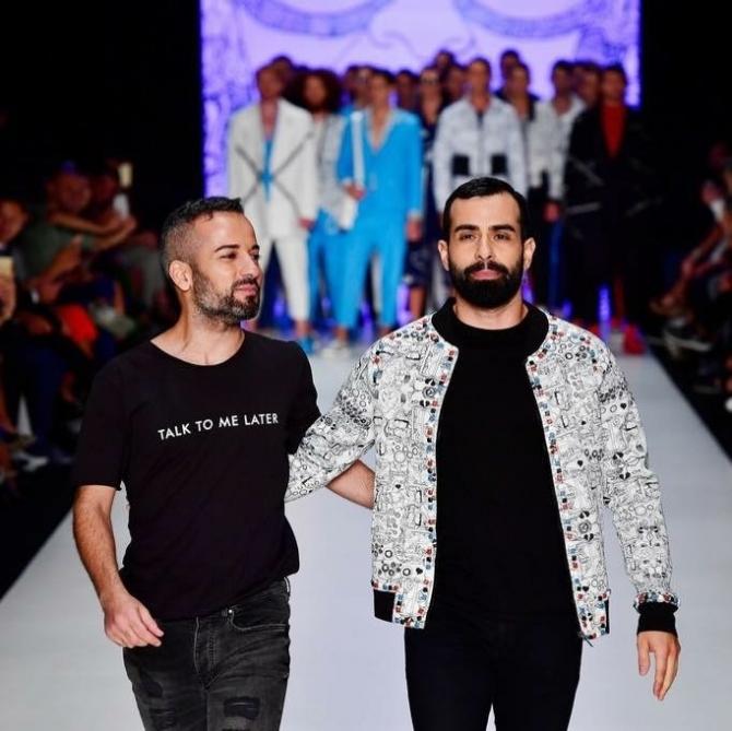 Ünlü modacı Emre Erdemoğlu, minik serçeden ilham aldı