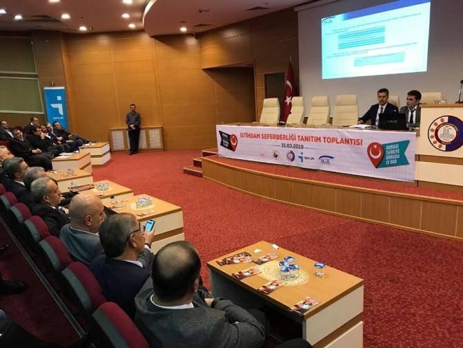 Malatya'da İstihdam Seferberliği 2019 tanıtıldı
