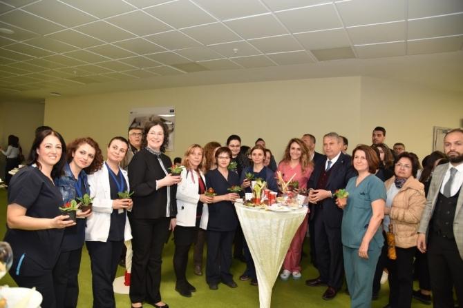 Manisa Şehir Hastanesinde Tıp Bayramı resepsiyonu