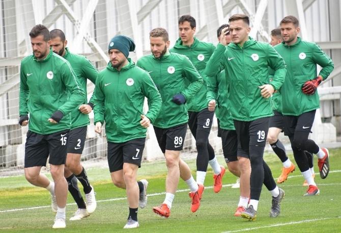 Konyaspor, Çaykur Rizespor maçının hazırlıklarını tamamladı