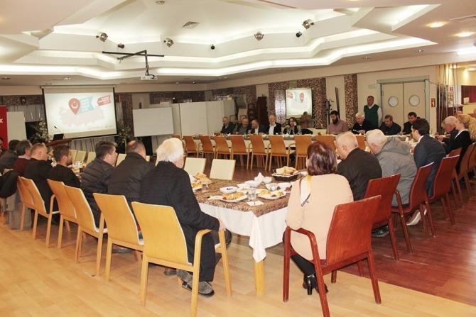 Düzce'de Orman ürünleri sanayicileri OSB için bir araya geldi