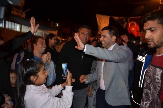 Başkan Günel, Tepe Sokak sakinlerine verdiği sözü tuttu, konser düzenledi