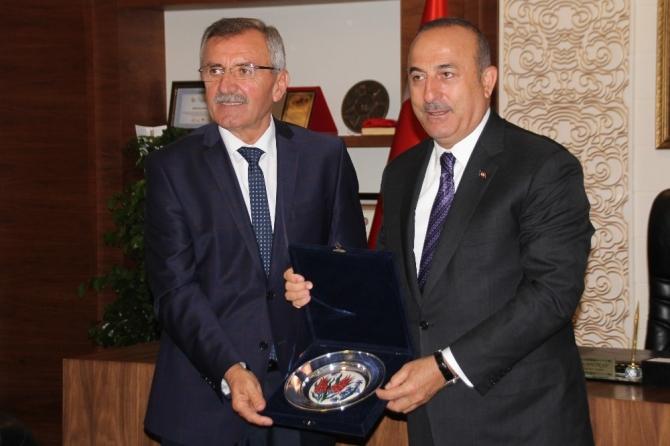 """Dışişleri Bakanı Çavuşoğlu: """"Oy veren vermeyen herkesi hizmetlerimizle kucaklayacağız"""""""