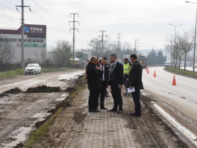 Başkan Yardımcısı Kasapoğlu sahaya indi