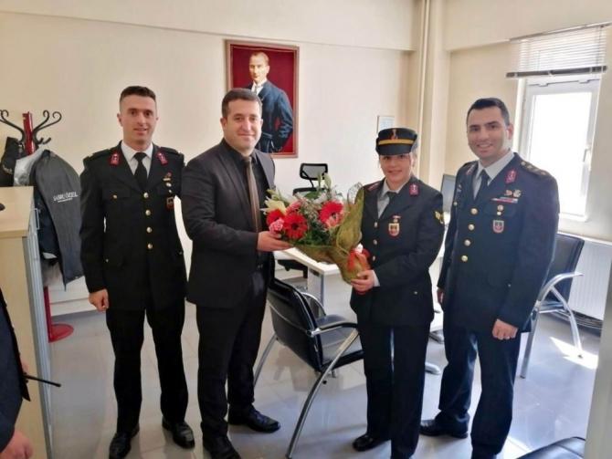 Jandarma'dan Emniyete 174'üncü yıl dönümü ziyareti