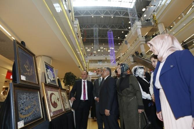 Başkan Büyükkılıç KAYMEK sergisini gezdi