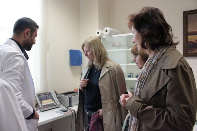 Slovak heyet hastaneye hayran kaldı