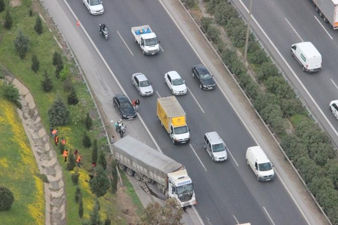 İzmir'de trafik kurallarına uymayanlar helikoptere yakalanıyor