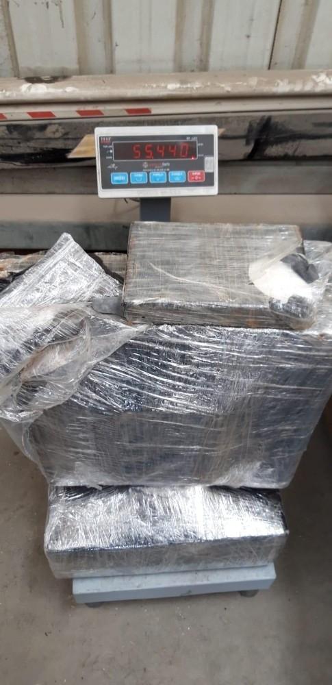 Tekirdağ'da 55 kilogram 440 gram kokain ele geçirildi
