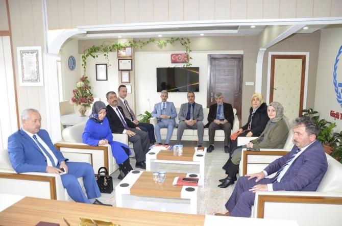 Yurt ve şube müdürleri toplantısı gerçekleştirildi