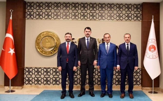Bakan Kılınç belediyenin projelerini incelemek için Adıyaman gelecek