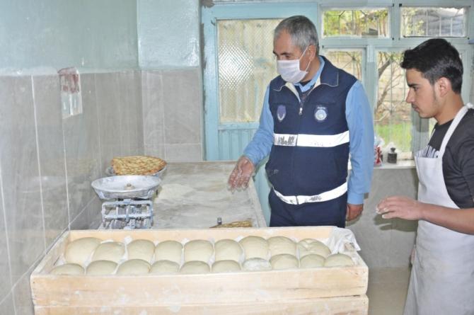Gölbaşı ilçesinde Ramazan öncesi fırın denetimi