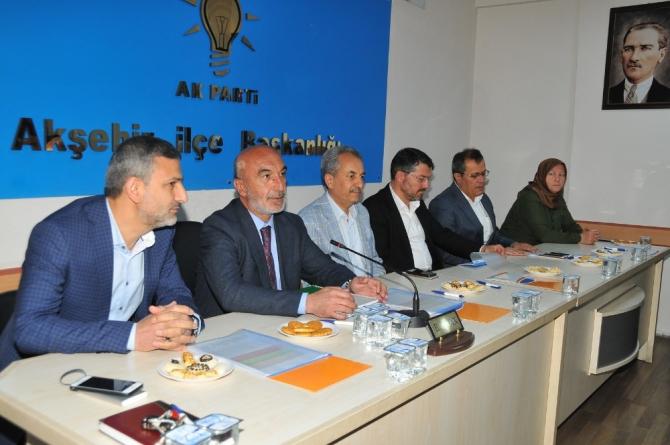 Başkanı Angı'dan Akşehir'e teşekkür ziyareti