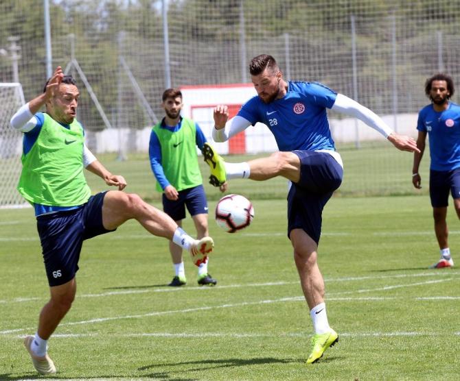 Antalyaspor'da tek hedef 5.'lik
