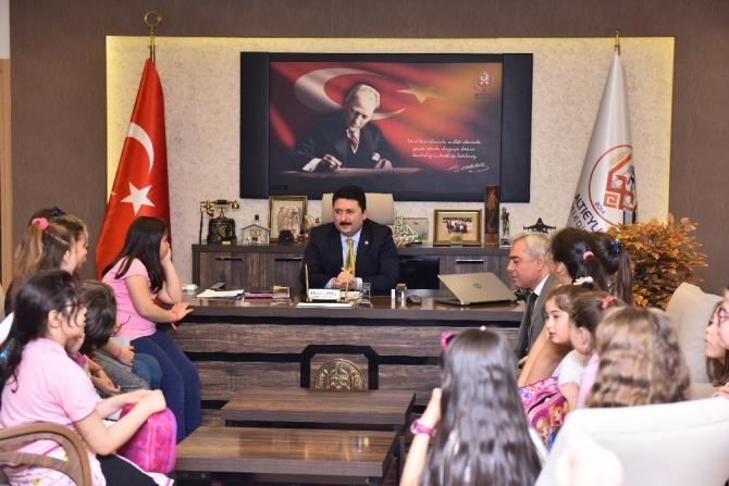 Atatürk İlkokulu öğrencileri Altıeylül'de